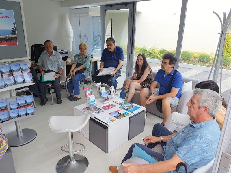 Groupe Italie de l'AGAM à la CC Italienne