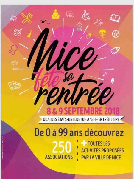 Nice Fête sa rentrée 2018